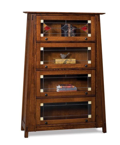 Amish Colbran Mission Barrister Bookcase