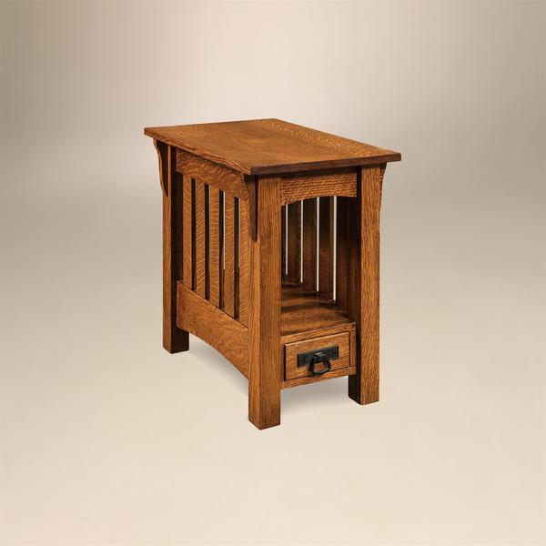 Amish Adams Mission End Table