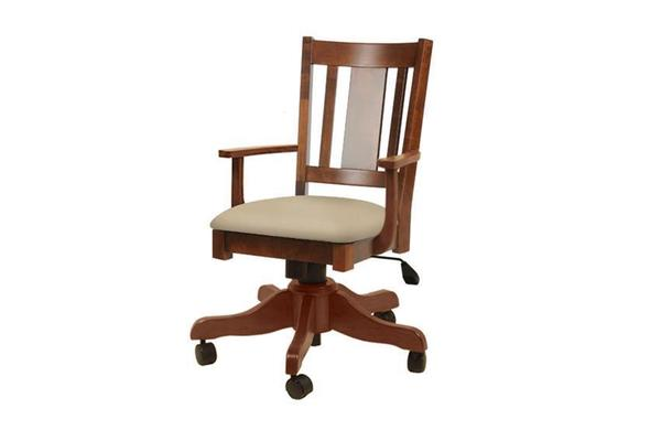 Amish Benito Gas Lift Desk Chair