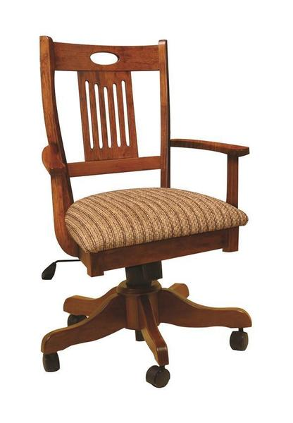 Amish Dinah Gas Lift Desk Chair