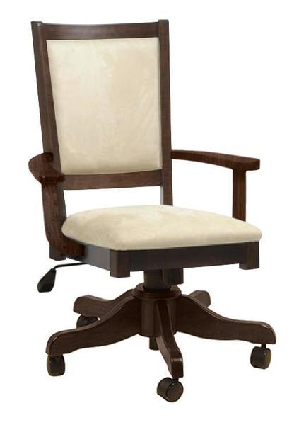 Amish Francois Gas Lift Desk Chair