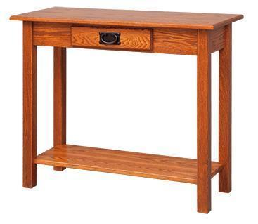 Mission Hall Table From Dutchcrafters