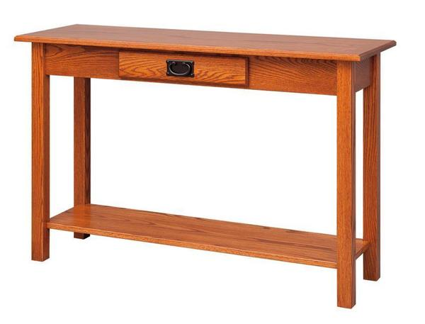 Amish Classic Mission Sofa Table