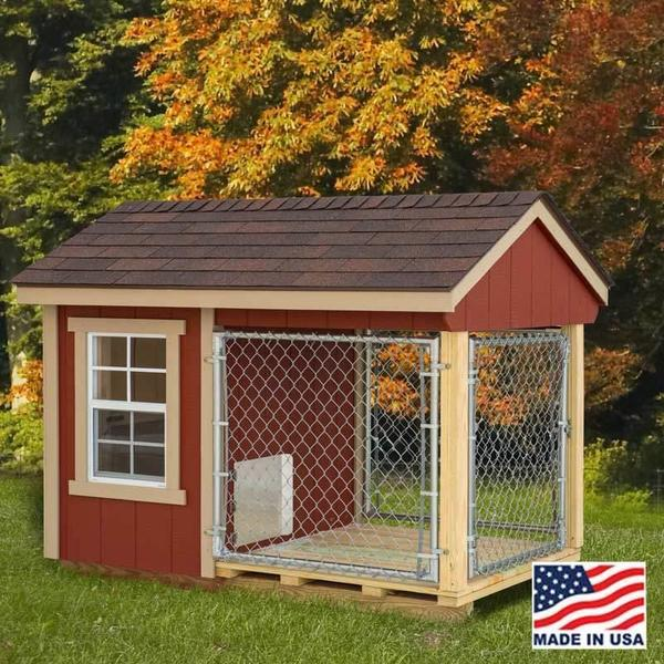 Amish Barn Dog Kennel