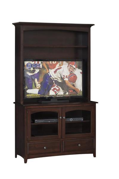"Amish Manchester 46"" Hutch-Top TV Stand"