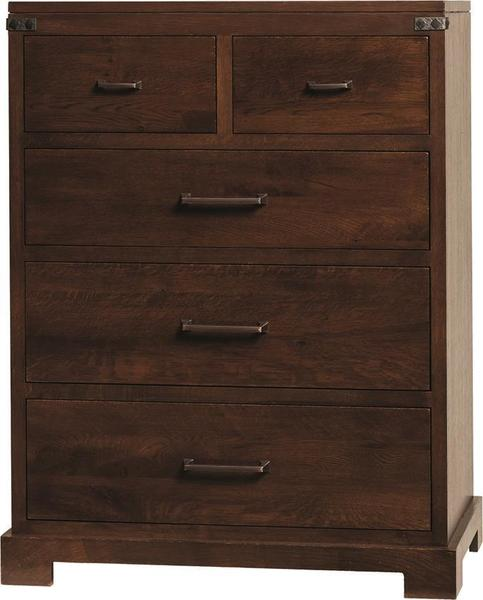 Amish Mary Ann Five Drawer Chest