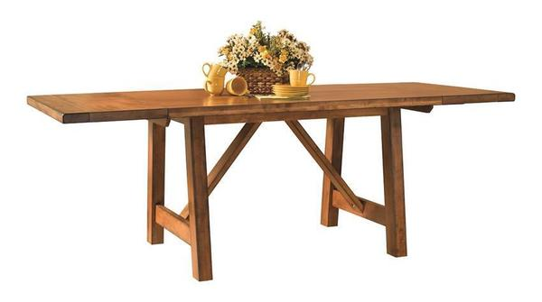 Amish Aspen Mission Counter Height Gathering Table
