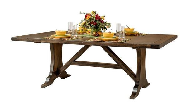 Amish Westin Trestle Dining Table