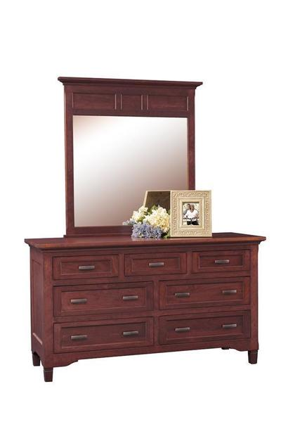Amish Lexington Dresser with Optional Mirror