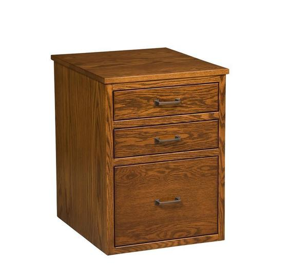 Amish Empire File Cabinet with Three Drawers