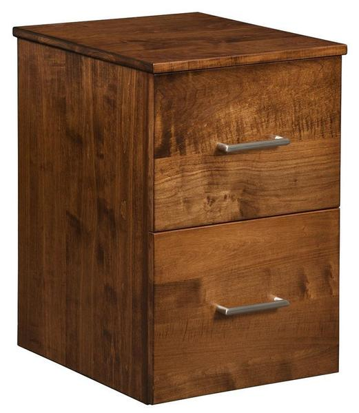 Amish Image File Cabinet with Two Drawers