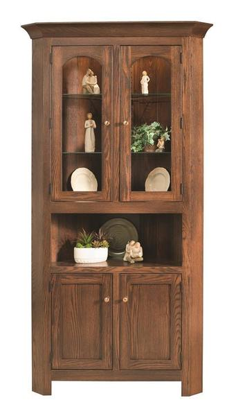 Amish Georgetown Corner Hutch