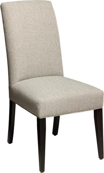 Amish Parsons Chair with Straight Top