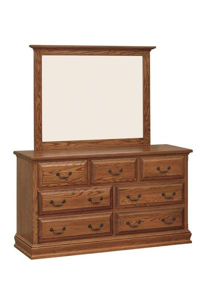 Amish Royal Dresser of Seven Drawers