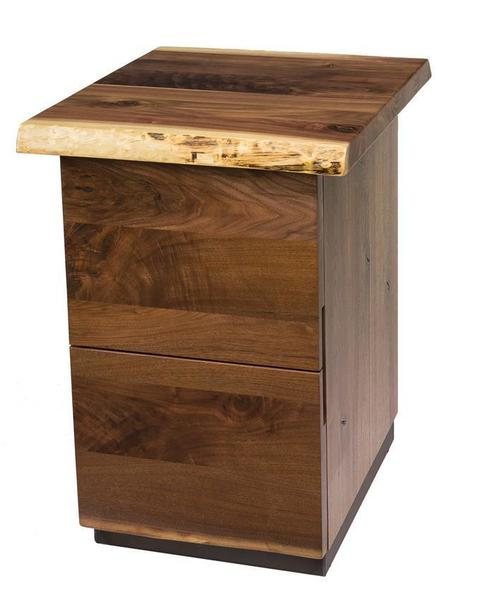 Amish Soho Two Drawer File Cabinet