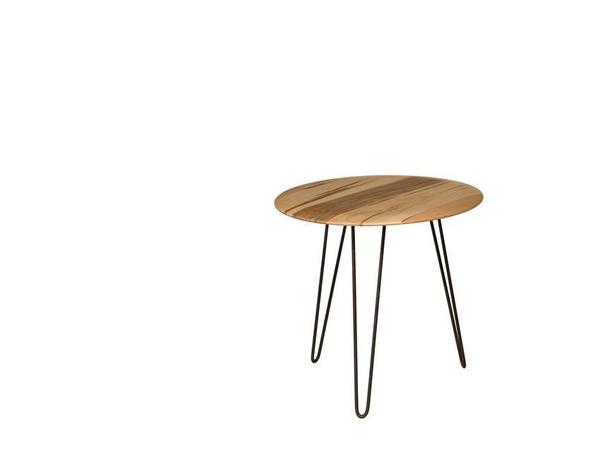 Amish Melrose Round End Table