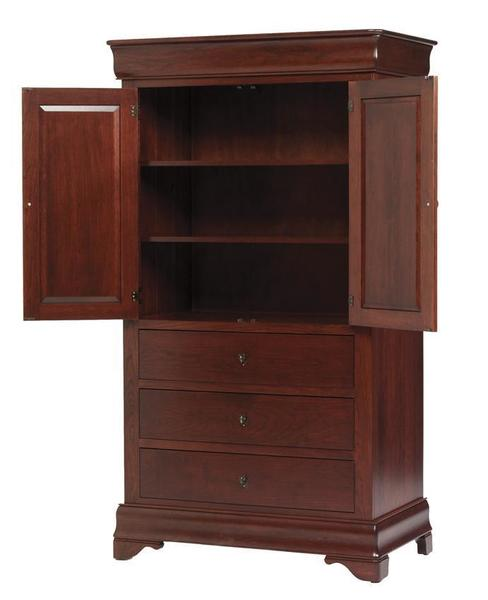 Amish Louis Philippe Armoire