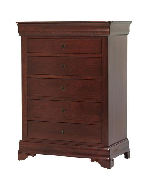 Amish Louis Philippe Chest of Drawers