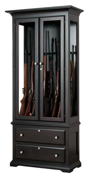 Exceptionnel American Alps Solid Wood Gun Cabinet