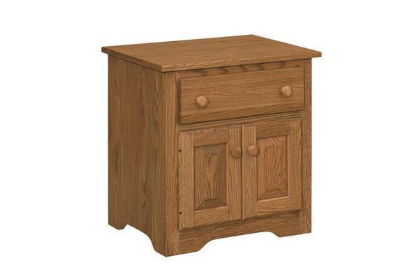 Amish Shaker Cabinet Nightstand