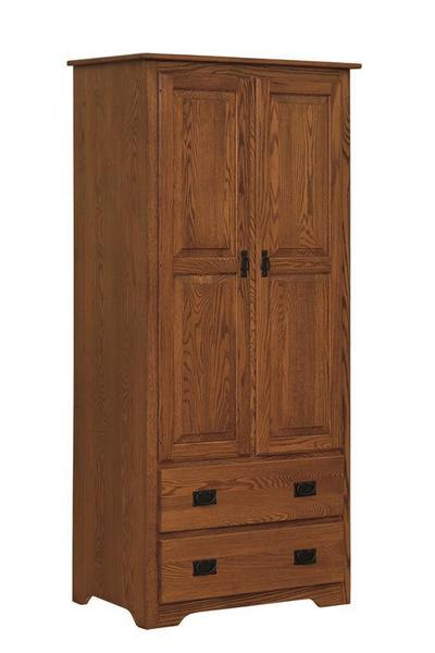 Amish Mission Armoire Wardrobe