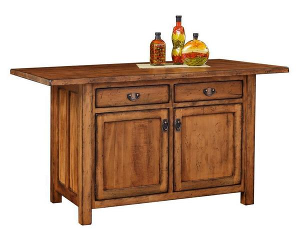 Amish Ancient Mission Kitchen Island