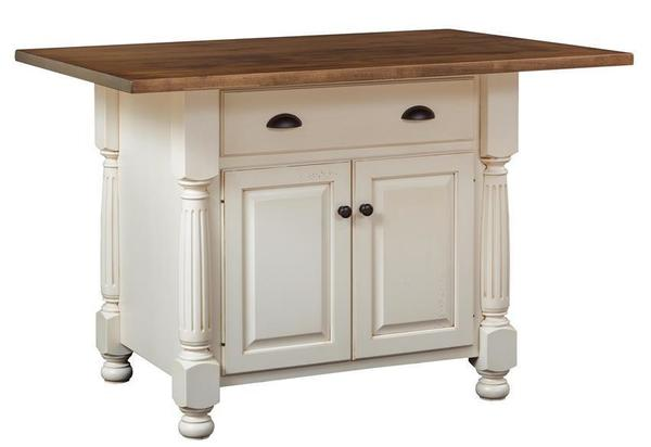 french country kitchen island by dutchcrafters amish furniture