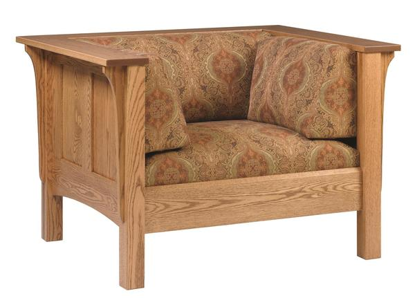 Amish Shaker Lounge Chair