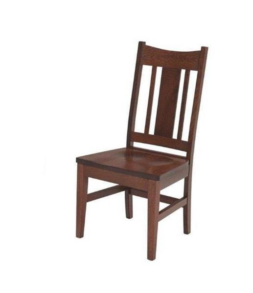 Amish Kodiak Mission Dining Chair