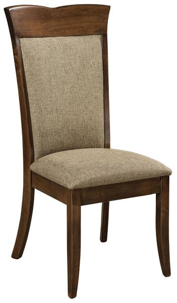 Amish Santa Fe Upholstered Dining Room Chair