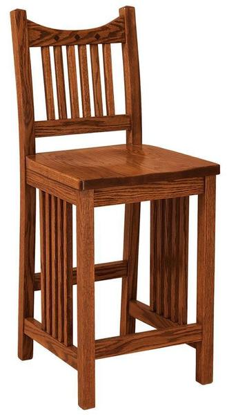 Amish Royal Mission Bar Stool