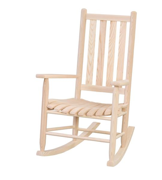 Amish Ash Wood Cottage Porch Rocking Chair