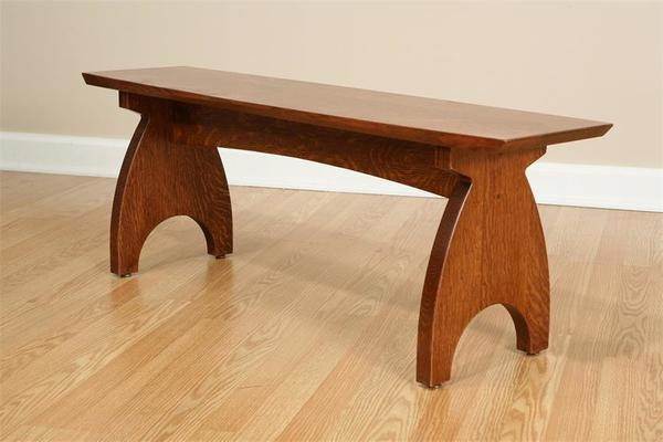 Amish Grand River Backless Bench