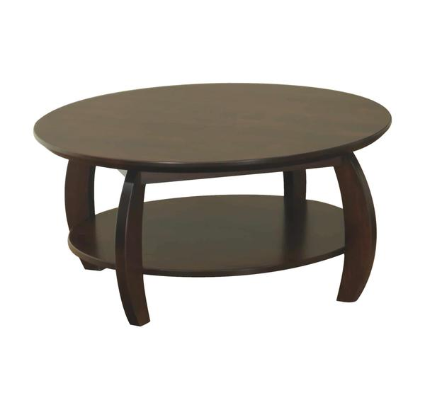 Amish Sierra Coffee Table with Shelf