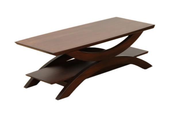 Amish Gateway Coffee Table with Shelf
