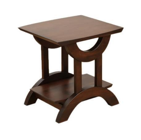 Amish Gateway End Table with Shelf
