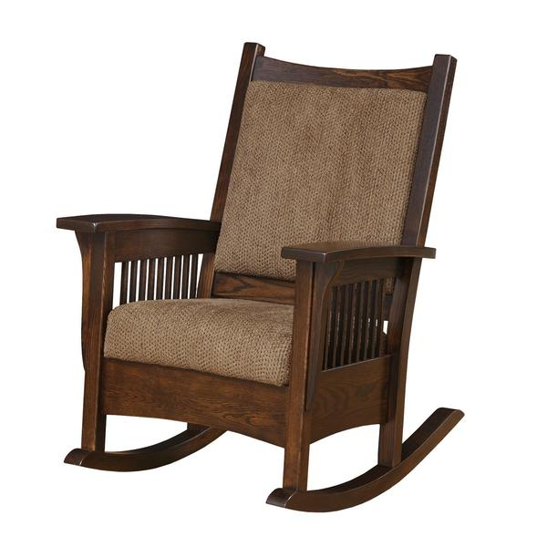 Amish Luxury Mission Rocking Chair