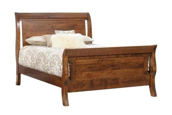 Amish Tucson Sleigh Bed
