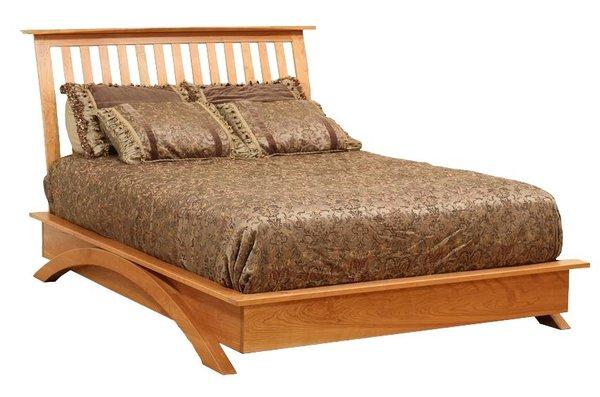 Amish Gateway Platform Bed