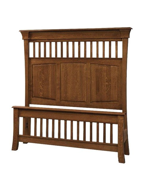 Amish Banbury Panel Bed