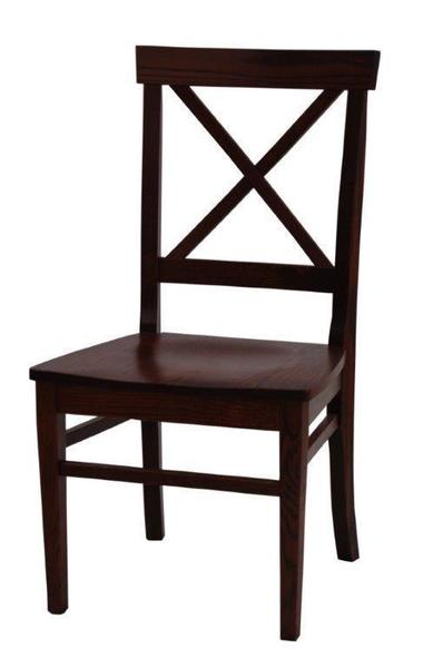 Amish Ace X Back Dining Chair