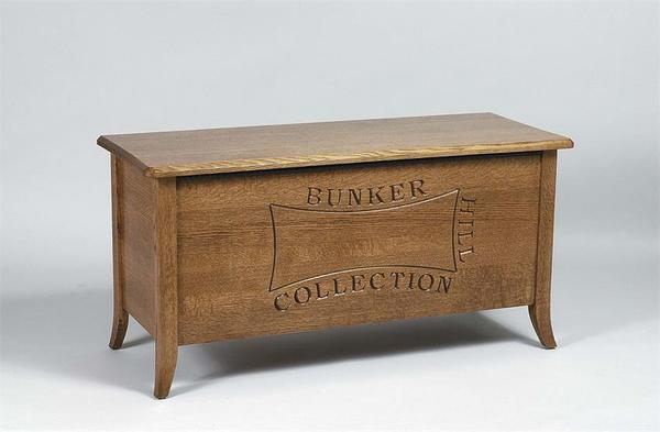 Amish Bunker Hill Blanket Chest