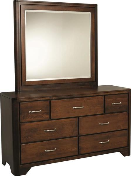 Amish London Double Dresser with Optional Mirror
