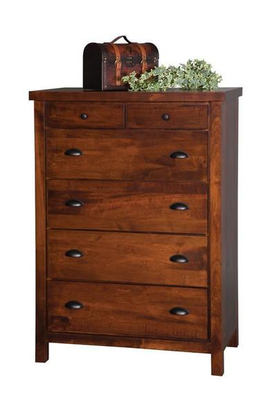 Amish Times Square Chest of Drawers