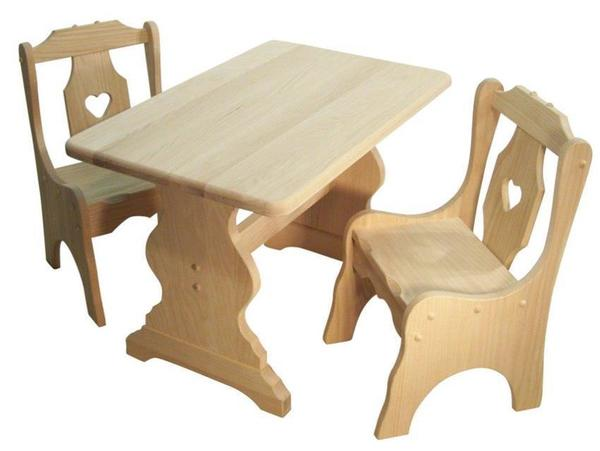 Amish Rustic Children's Table