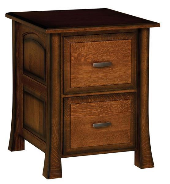 Amish Olde Century 2 Drawer Filing Cabinet