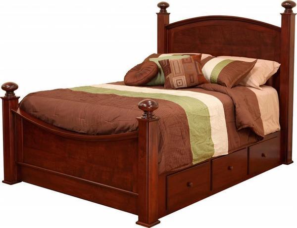 Amish Luellen Storage Bed