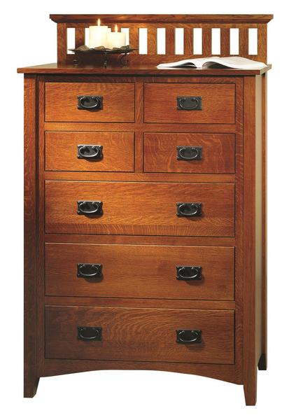Amish Mission Antique Chest of Drawers