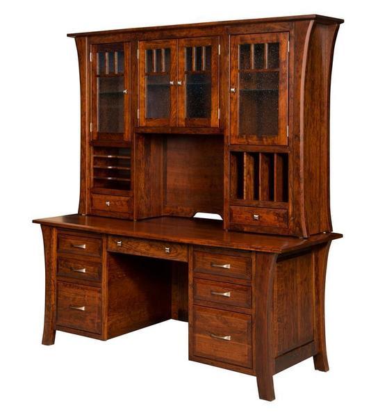 Amish Ensinada Executive Desk
