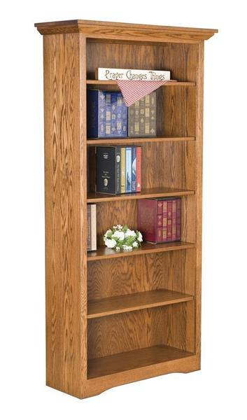 Amish Mission Office Bookcase